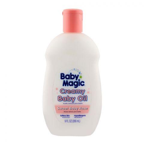Baby Magic Sweet Rose Creamy Baby Oil 266ml