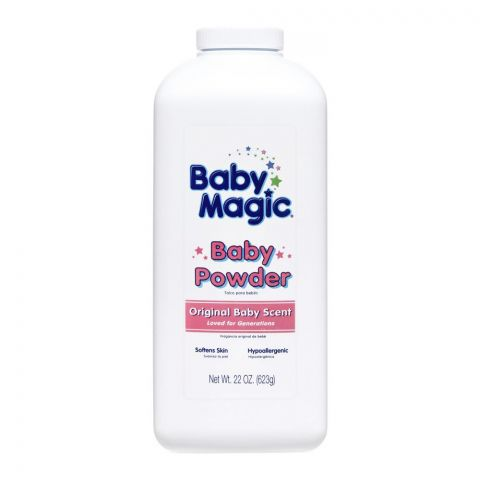 Baby Magic Baby Powder, Original Baby Scent, 623g