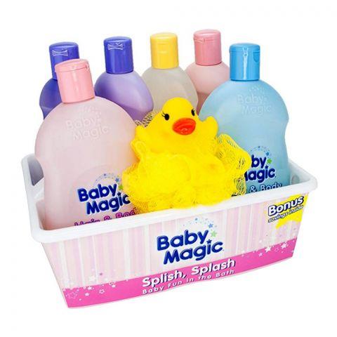 Baby Magic Splish Fun In The Bath Tub Set