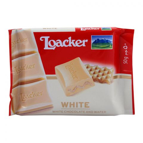 Loacker White Chocolate 50g