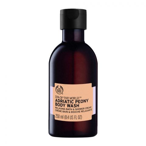 The Body Shop Spa Of The World, Adriatic Peony Body Wash, 250ml