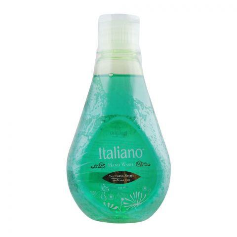 Italiano Youthful Spirit Hand Wash, Soap Free, 310ml