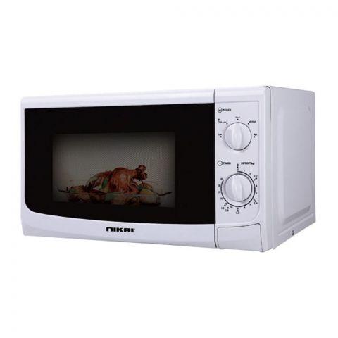 Nikai Microwave Oven, 20 Liter, 700W, NMP515N9A