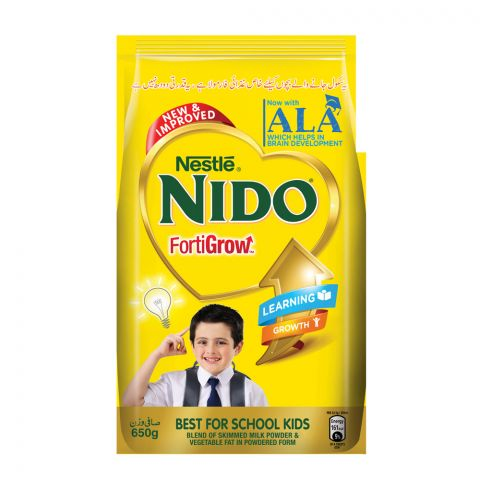 Nestle Nido Fortigrow, 650g, Pouch