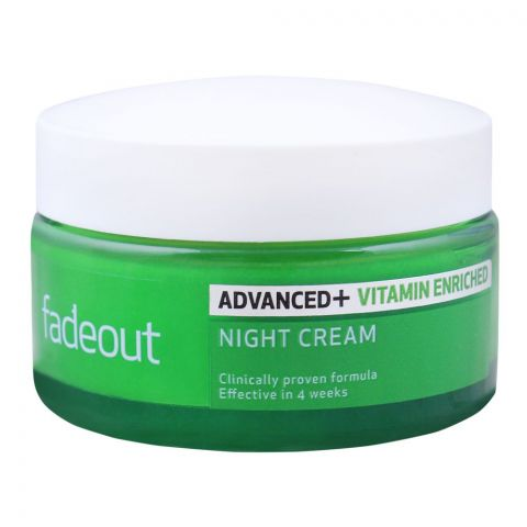 Fade Out Advanced+ Vitamin Enriched Whitening Night Cream, 50ml