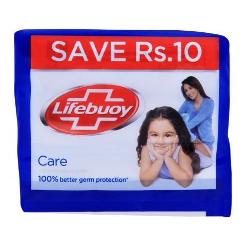 Lifebuoy Care With Activ Silver Soap, Value Pack 3x112g
