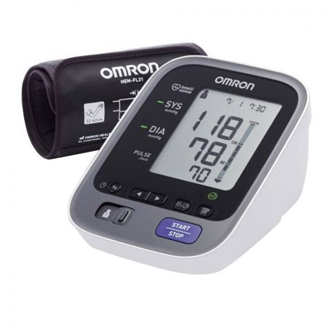 Omron Intelli IT Automatic Upper Arm Blood Pressure Monitor, M7