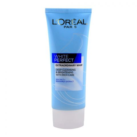 L'Oreal Paris White Perfect Extraordinary Whip, Deep-Cleansing & Brightening, 100ml