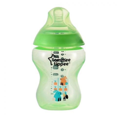 Tommee Tippee 3m+ Decorated Feeding Bottle (Green) 340ml/12oz - 422699/38