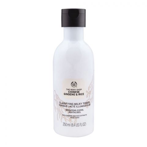 The Body Shop Chinese Ginseng & Rice Clarifying Milky Toner, 250ml