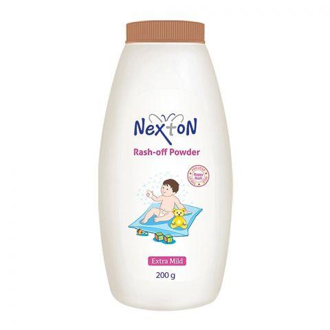 Nexton Rash-Off Extra Mild Baby Powder, 200g