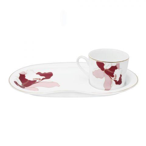 Cera-E-Noor Snack Plate + Cup