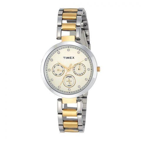 Timex Analog Gold Dial Women's Watch - TW000X213