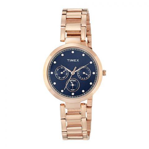 Timex Analog Blue Dial Women's Watch - TW000X215
