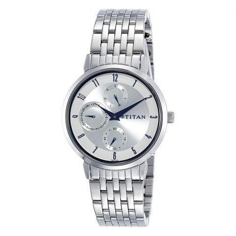 Titan Neo Analog White Dial Watch For Women, 2569SM03