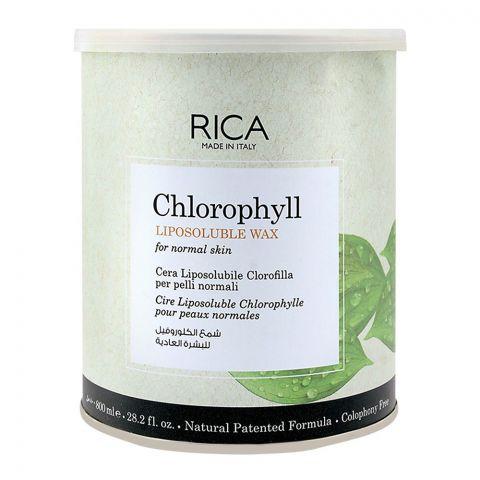 RICA Chlorophyll Normal Skin Lisposoluble Wax 800ml