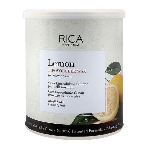 RICA Lemon Normal Skin Lisposoluble Wax 800ml