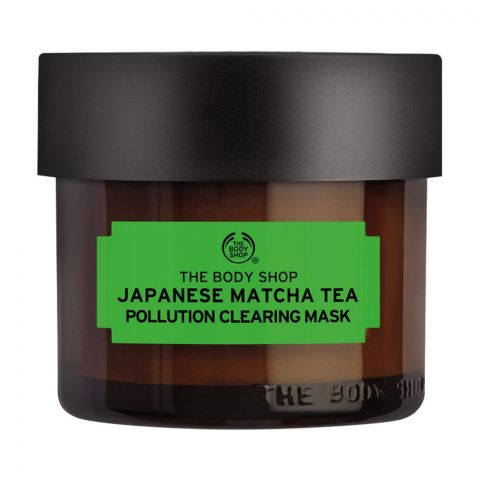 The Body Shop Japanese Matcha Tea Pollution Clearing Mask, 75ml