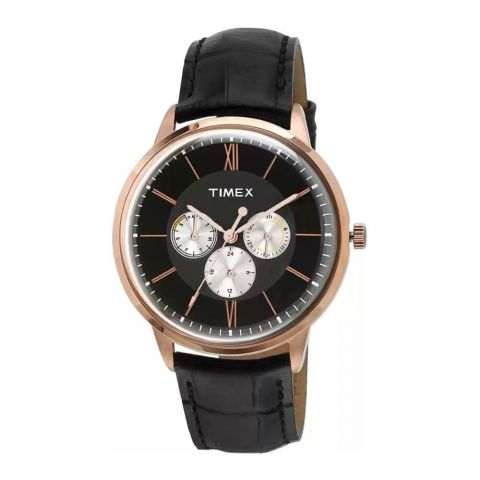 Timex Analog Black Dial Men's Watch - TWEG16402