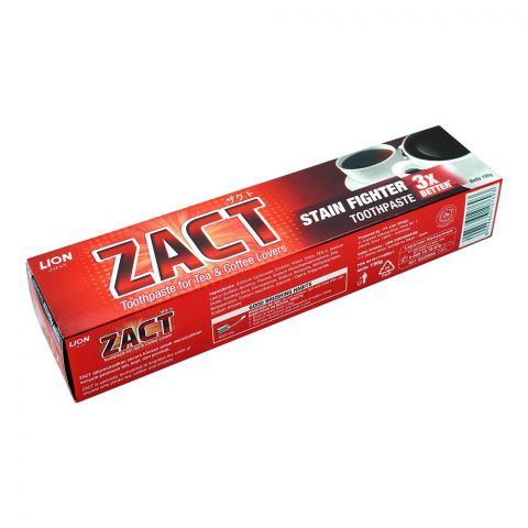 ZACT Lion Stain Fighter Toothpaste, 190g