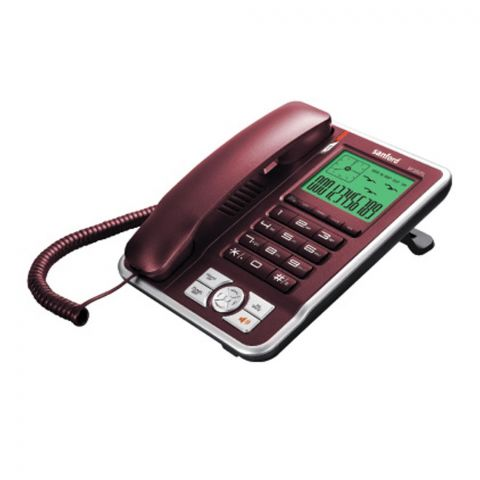 Sanford Caller ID Landline Corded Phone, SF350TL