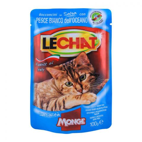 Monge Lechat Ocean Fish Cat Food 100g