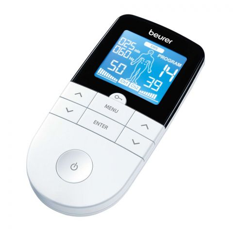 Beurer Handheld Digital TENS/EMS Machine, EM-49