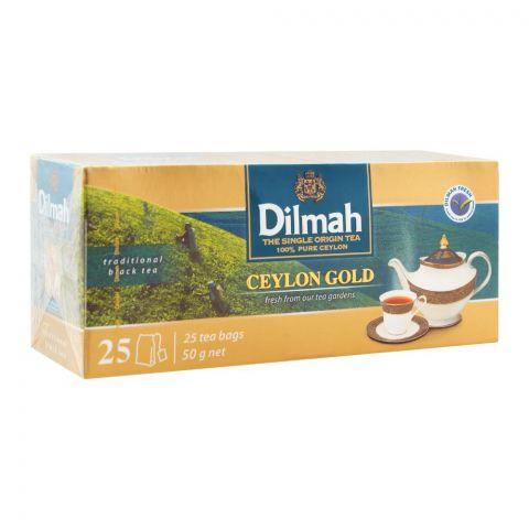 Dilmah Ceylon Gold Tea, 25 Tea Bags
