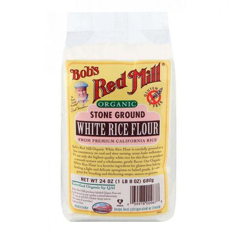 Bob's Red Mill Organic White Rice Flour 680gm
