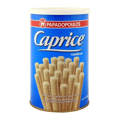 Papadopoulos Caprice Vanilla Wafers 250gm