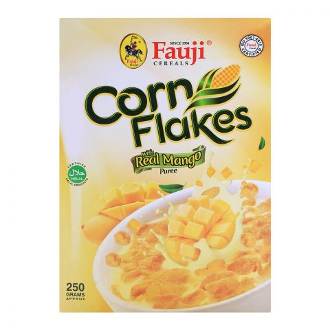 Fauji Corn Flakes Mango 250gm