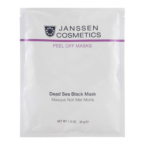 Janssen Cosmetics Peel Off Dead Sea Black Mask 30g