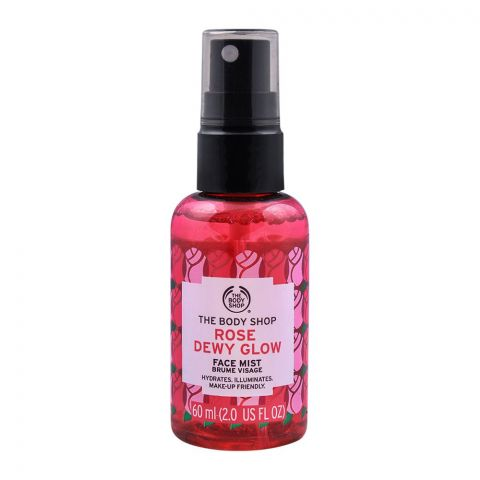 The Body Shop Rose Dewy Glow Face Mist, 60ml