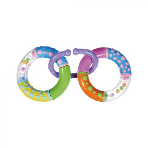 Tigex 2 Rings Rattle, 0m+, 6315