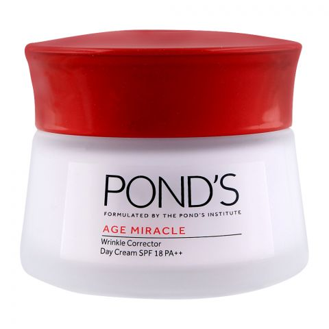 Pond's Age Miracle Wrinkle Corrector Day Cream 50ml Jar Thai