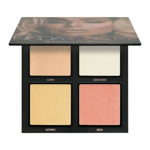 Huda Beauty 3D Pink Sands Highlighter Palette