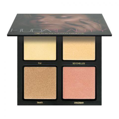 Huda Beauty 3D Gold Sands Highlighter Palette