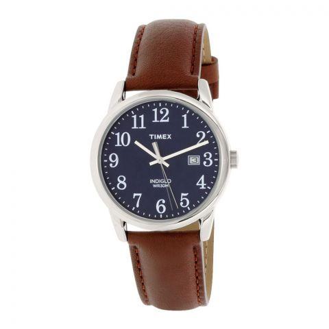 Timex Men's Easy Reader Brown Leather Quartz Fashion Watch - TW2P75900
