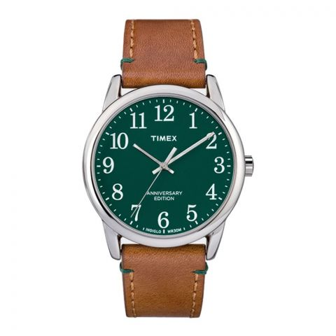Timex Unisex Analog Green Casual 40th Anniversary Edition Easy Reader - TW2R35900
