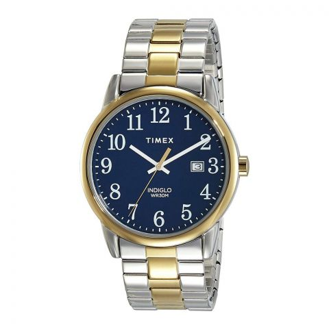 Timex Men's Easy Reader Two-Tone Stainless-Steel Expansion Band Watch - TW2R58500