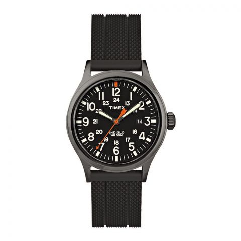 Timex Men's Allied Analog Black Dial Watch - TW2R67500