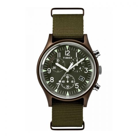 Timex MK1 Analog Green Dial Men's Watch - TW2R67800
