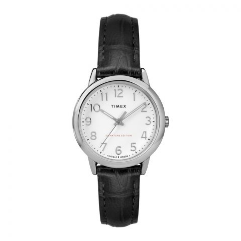 Timex Women's Easy Reader Leather Strap Watch - TW2R65300