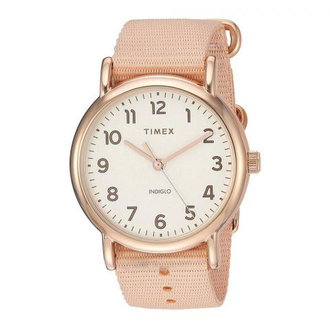 Timex Women's Weekender Pink/Rose 38mm Watch - TW2R59600