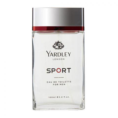 Yardley Sports For Men Eau De Toilette, 100ml