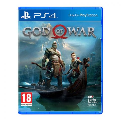 God Of War 4 - PlayStation 4 (PS4)