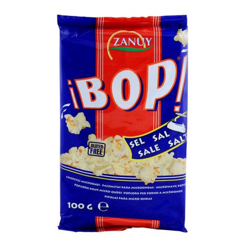 Zanuy iBOP Salted Popcorns, 100g