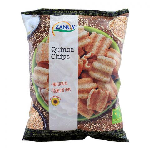 Zanuy Quinoa Chips, Multi Cereal, 65g