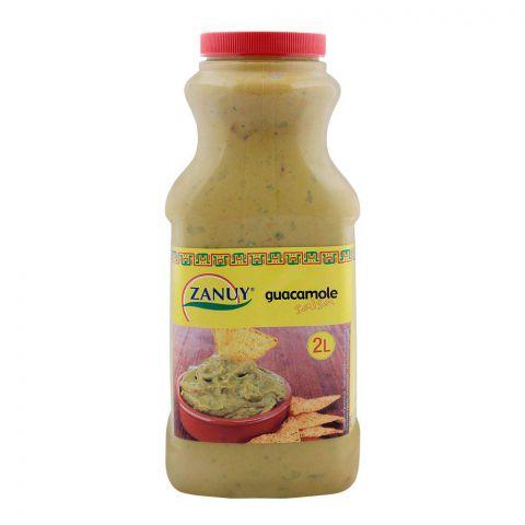 Zanuy Guacamole Salsa Dip, 2 Liters