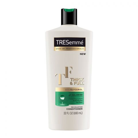Tresemme Thick & Full PH-Balanced Conditioner, Pro Collection, 650ml